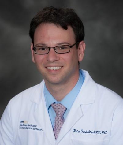 Headshot of KL2 Scholar Dr. Peter Turkeltaub