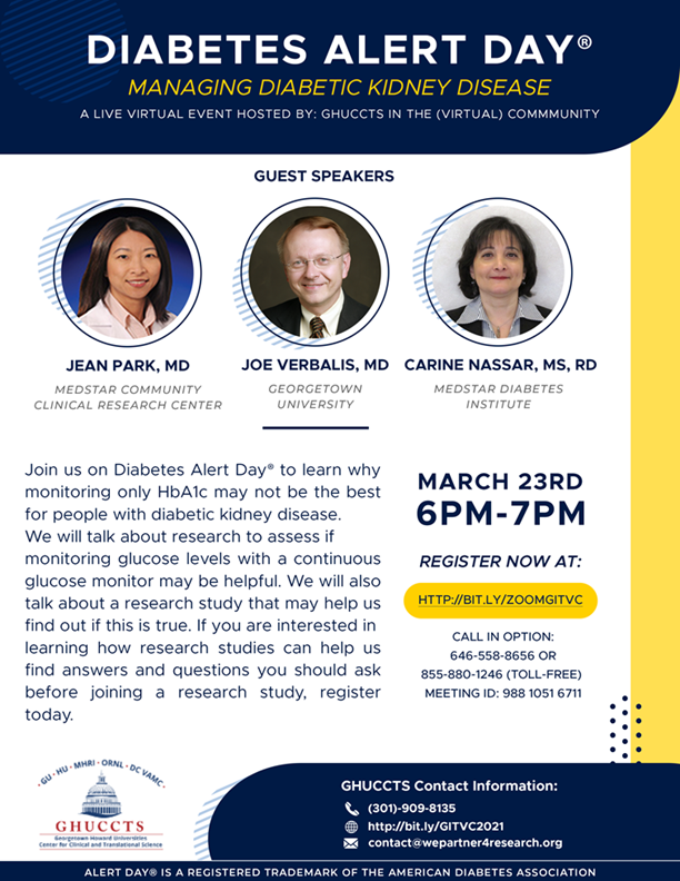 Flyer for GITVC March 23, 2021 event